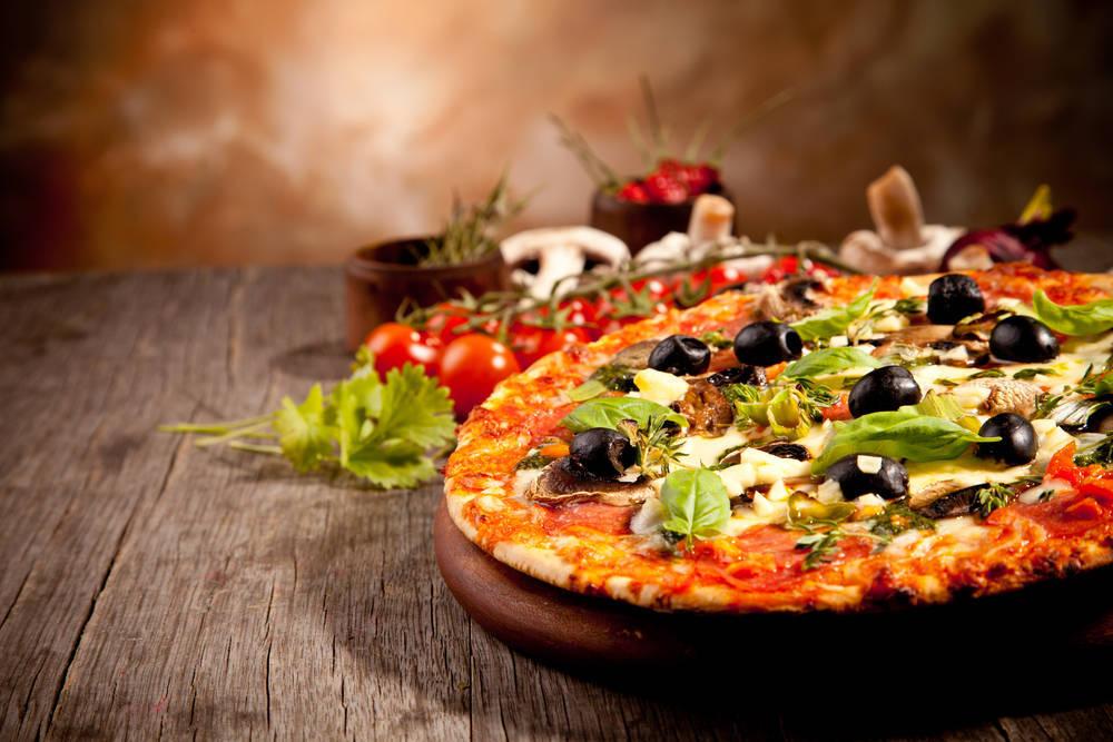 Quién dice que la pizza no es saludable