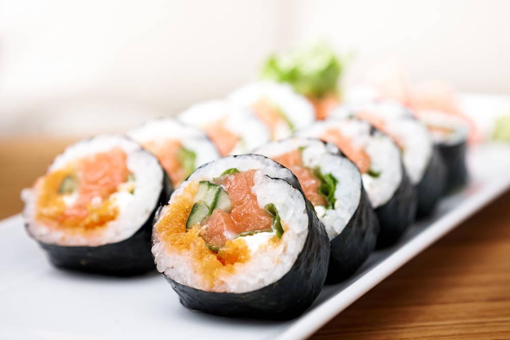 El suhshi, un plato completo y equilibrado