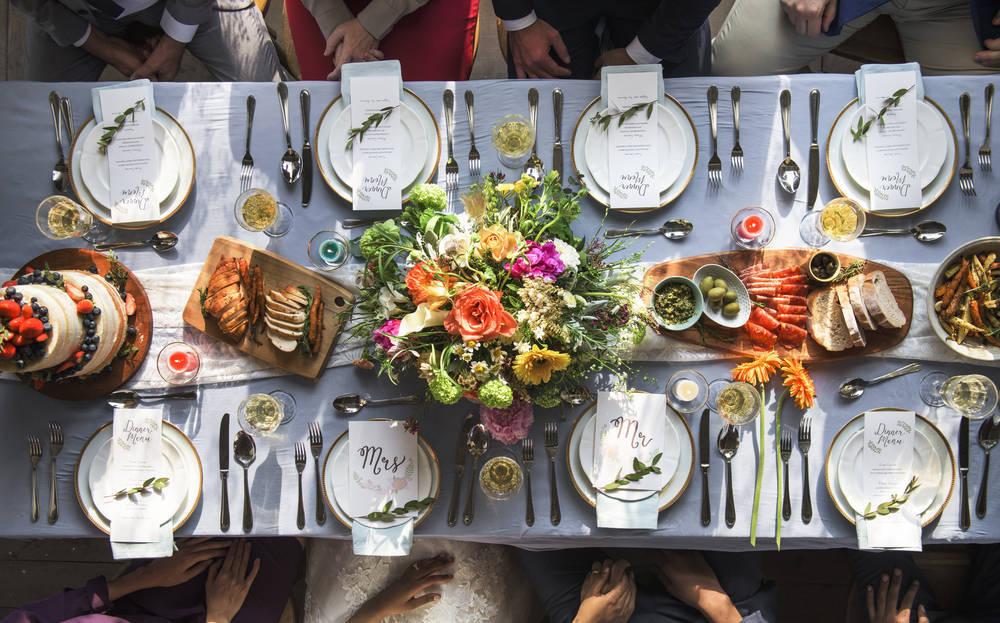 Consejos para un banquete de boda perfecto