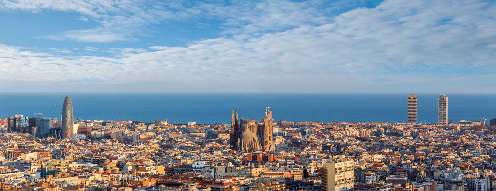 Barcelona se desborda